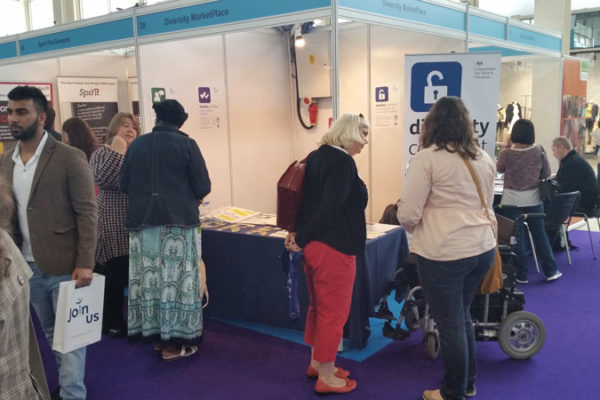 Raising awareness of Disability Confident at MK Job Show